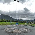 Rond-point à moens (norvège)