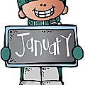Le bonhomme de janvier avec malina, 1ère inscrite