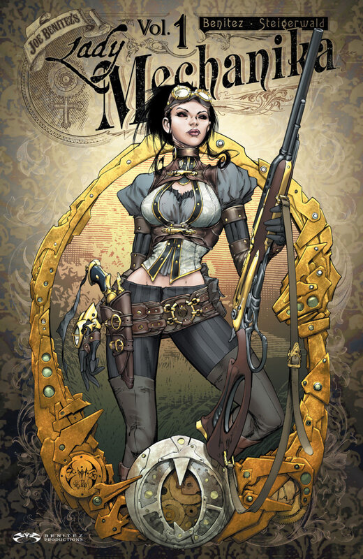 benitez lady mechanika vol 01 the mystery of the mechanical corpse TPB