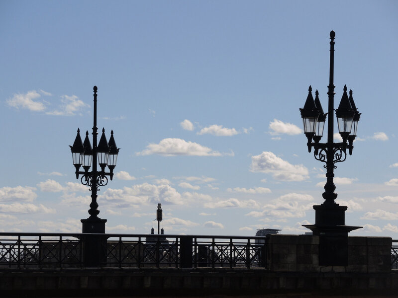Bordeaux, pont de pierre lampadaires (33)