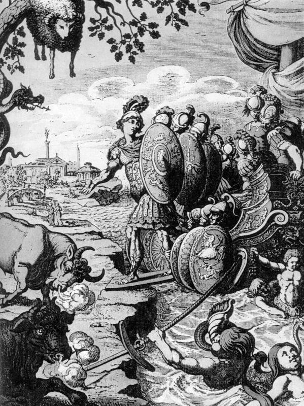 Le mythe de jason et la toison d 39 or mythologie grecque for Dans jeannot et colin l auteur combat
