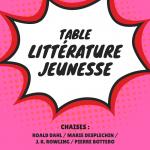 table littérature jeunesse