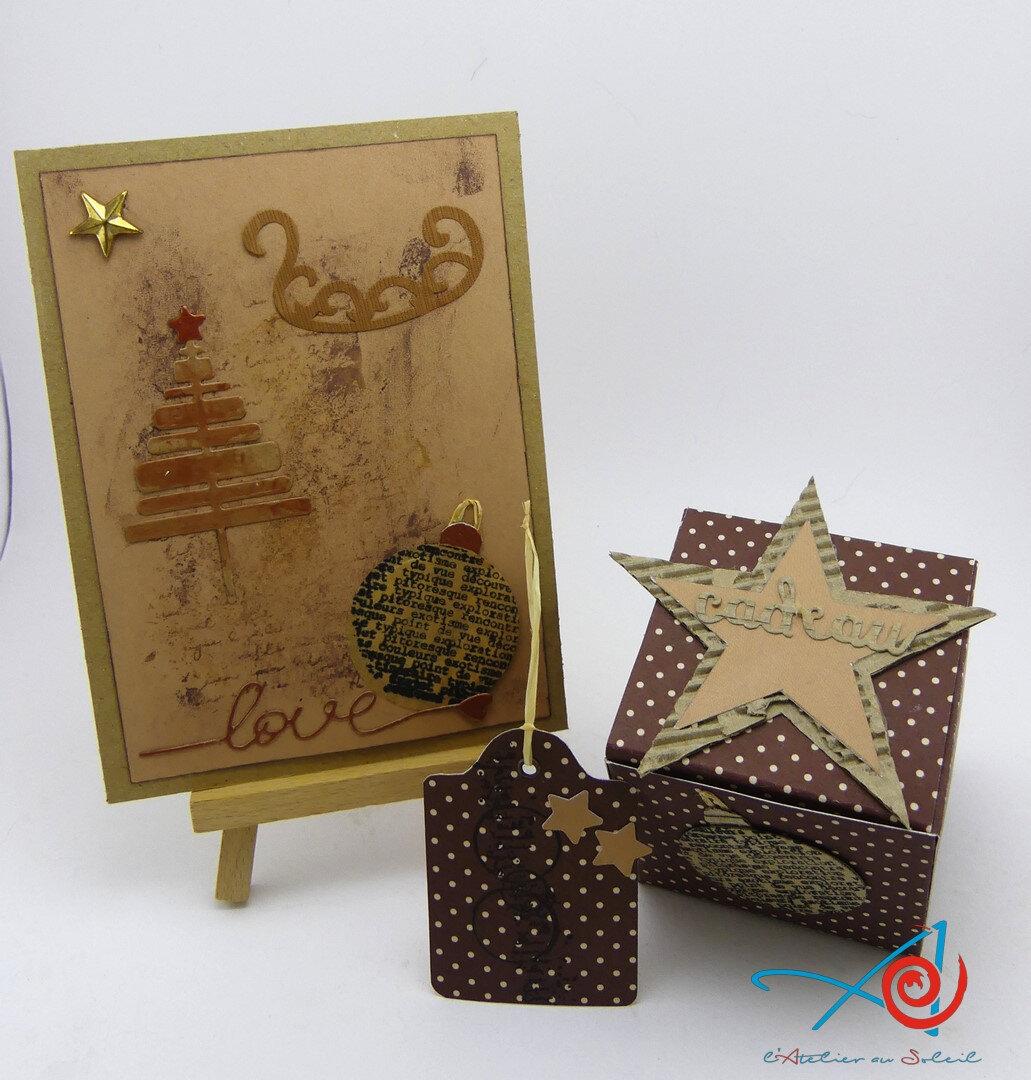Boîtes de Noël - Christmas boxes