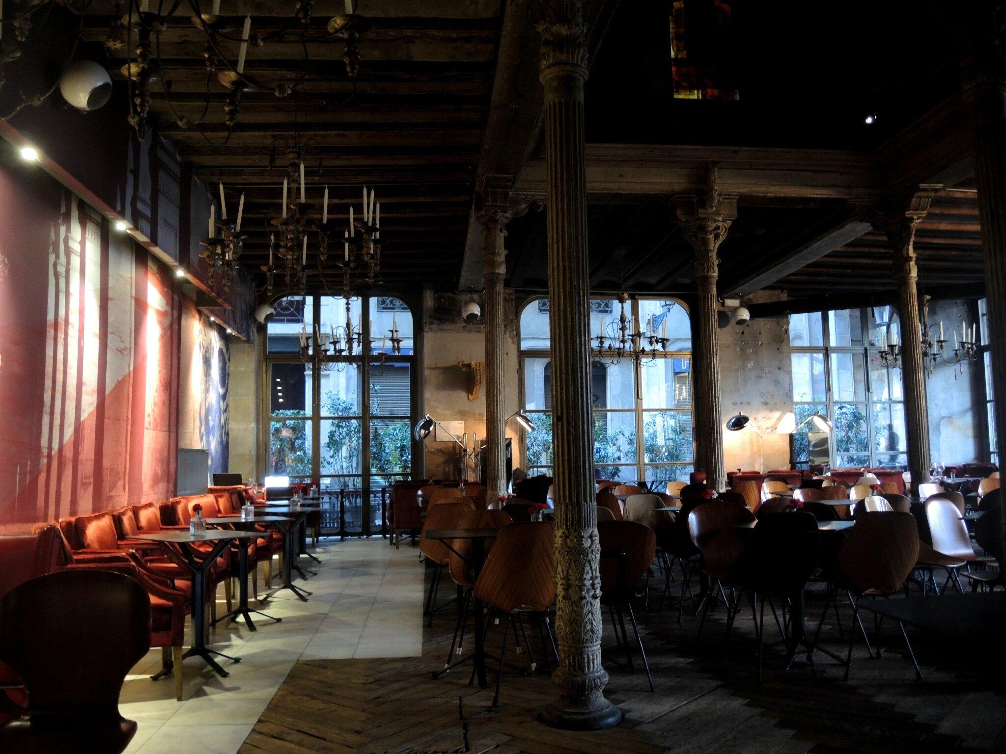 Barcelone, Bar Ocana, la salle (Espagne)