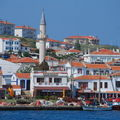 Arrivée a Boczaada, île turque