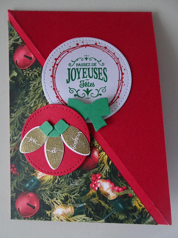 6 Carte Joyeuses fêtes