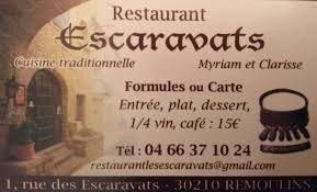 """Résultat de recherche d'images pour """"auberge des Escaravats"""""""