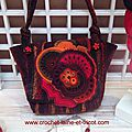 Sac crochet freeform