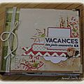 Mini album vacances chine