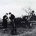Berne-Bellecour, la halte (1896)