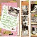 lettre au papa noel + mini album et tag