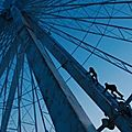 Divergent movie Tris and Four Grande Roue