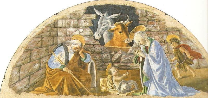 BOTTICELLI - Nativité - FLORENCE - Santa Maria Novella