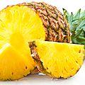 L'ananas : un peu de couleur dans notre assiette