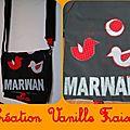 sac de crèche Marwann