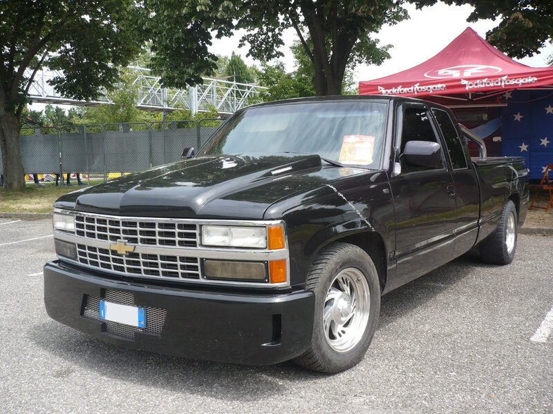CHEVROLET C1500 Silverado Extended Cab 2door pick-up 1991 Illzach (1)