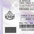 Fontaines d.c. - dimanche 10 novembre 2019 - bataclan (paris)