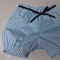Malika -pantalon court-