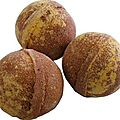 boule de bain effervescente chocolat orange
