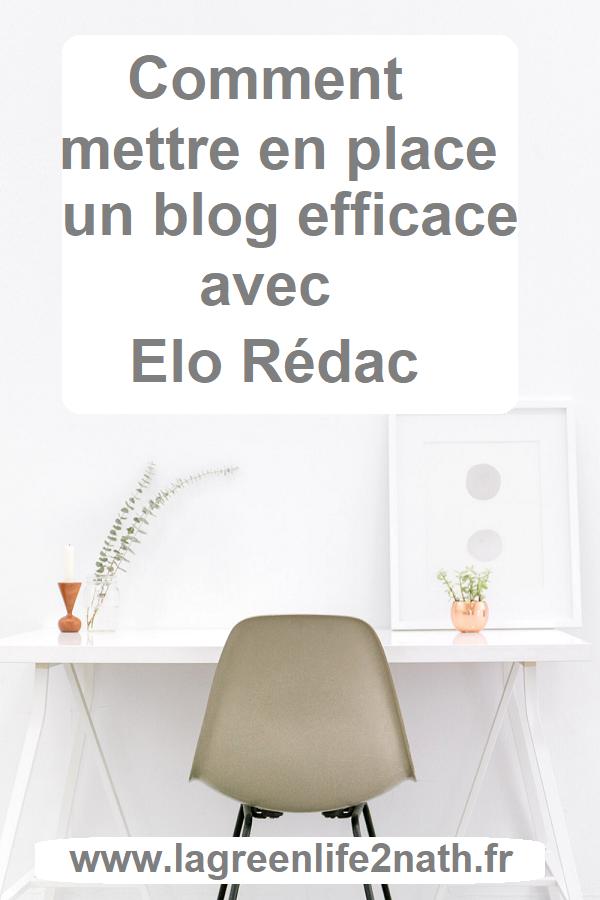Comment mettre en place un blog efficace avec Elo Rédac