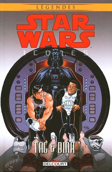 delcourt star wars icones 07 tag & bink