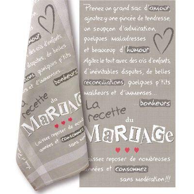 la recette du mariage M017