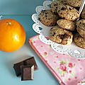 Sablés chocolat et zestes d'orange