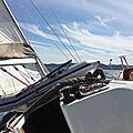 Croisière en voilier sur la Côte d'Azur du 16 au 24 août 2014