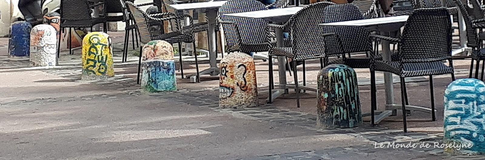 plots peints quartier saint-Roch à Montpellier