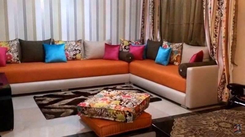 Nouveaux design de salon marocain moderne 2019