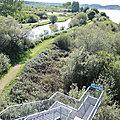 Marais d'Orx, sentier sud, espace des Pompes, observatoire, vue (40)
