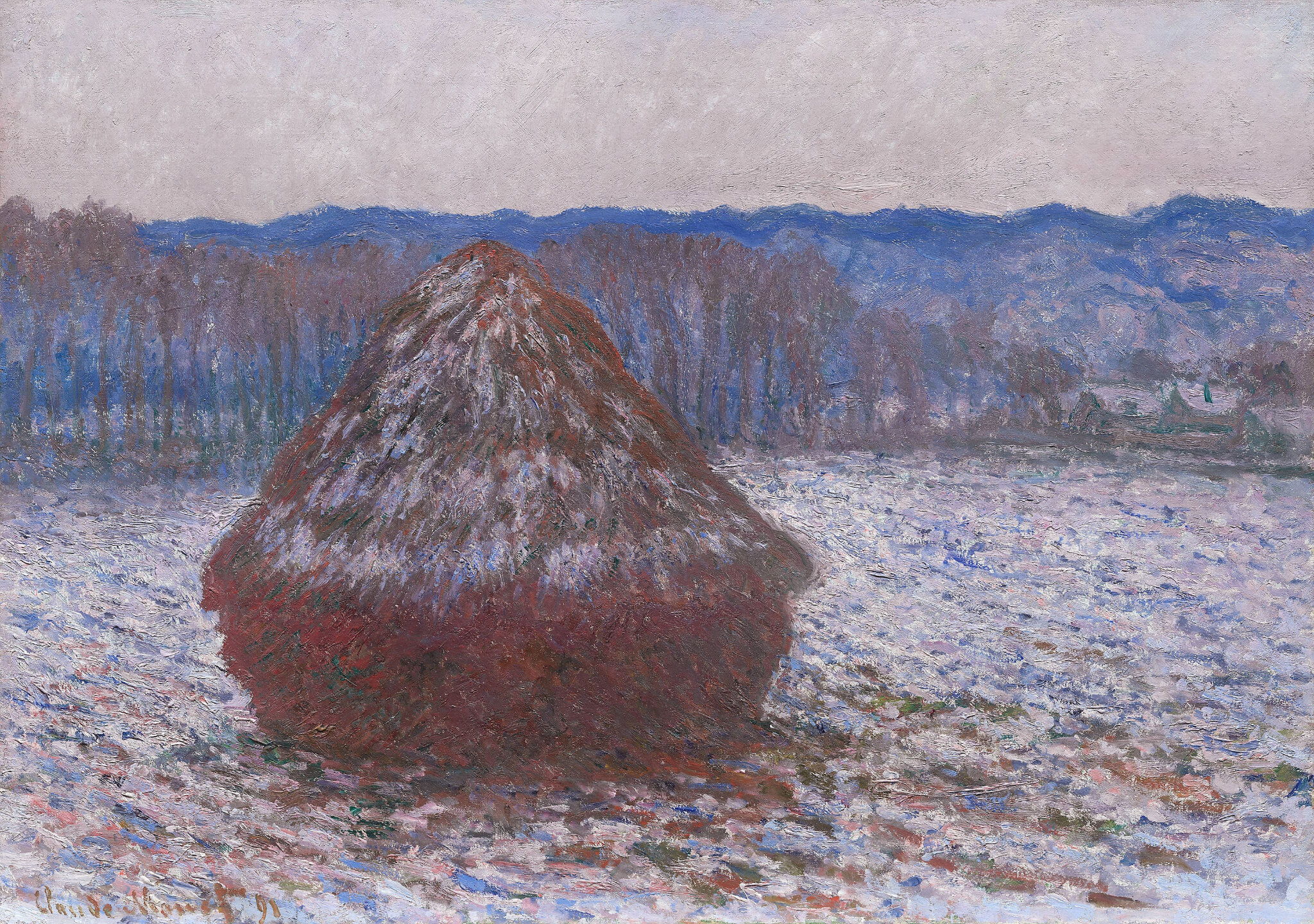 One of the finest examples of Claude Monet's Haystacks series estimated to  sell for in excess of $55 Million - Alain.R.Truong