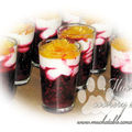 Verrine de fruits rouges