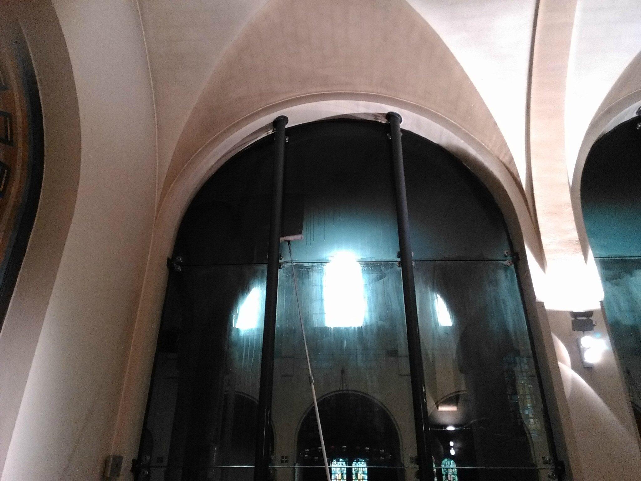 Nettoyer Volet Roulant Vitre Fixe nettoyer des vitres de plus de 5 mètres de hauteur, mission
