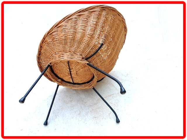 fauteuil vintage 1960 dls Matégot