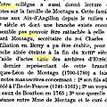 Montagu Jacques Léon a-t-il un fils décédé à l'Ile de France ?