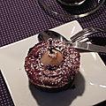 Moelleux fondant au chocolat et à la poire, sans gluten