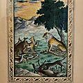Fables d'orient : miniaturistes, artistes et aventuriers à la cour de lahore