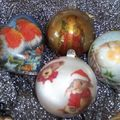 Plexiglass christmas balls