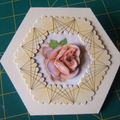 carte kippers 3D la rose