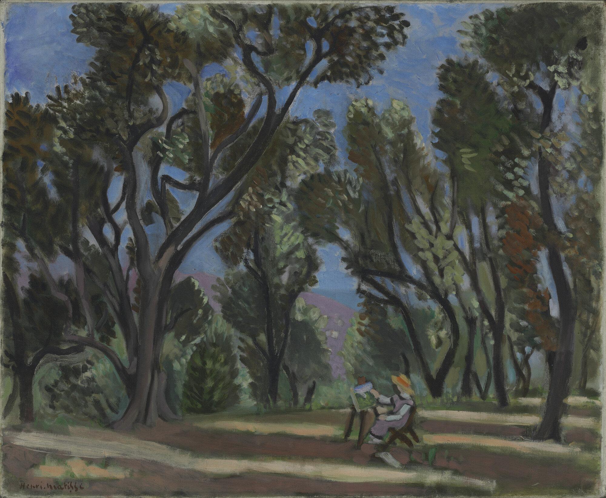 Картинки по запросу olive trees matisse