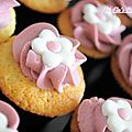 Cupcakes de printemps vanille-chocolat