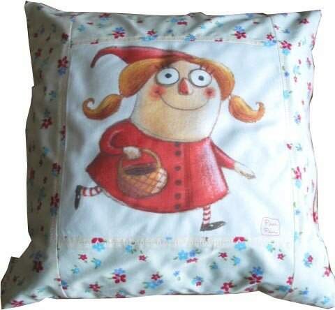 coussin PM chaperon rouge