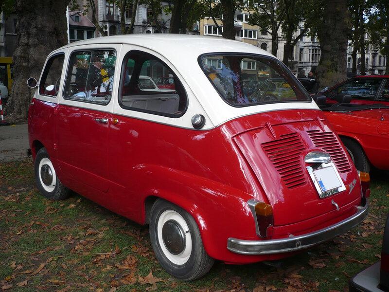 FIAT 600 Multipla 1957 Liège (2)