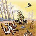 Affiche chasse-du plomb dans l'aile