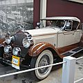 Packard model 343 roadster 1927
