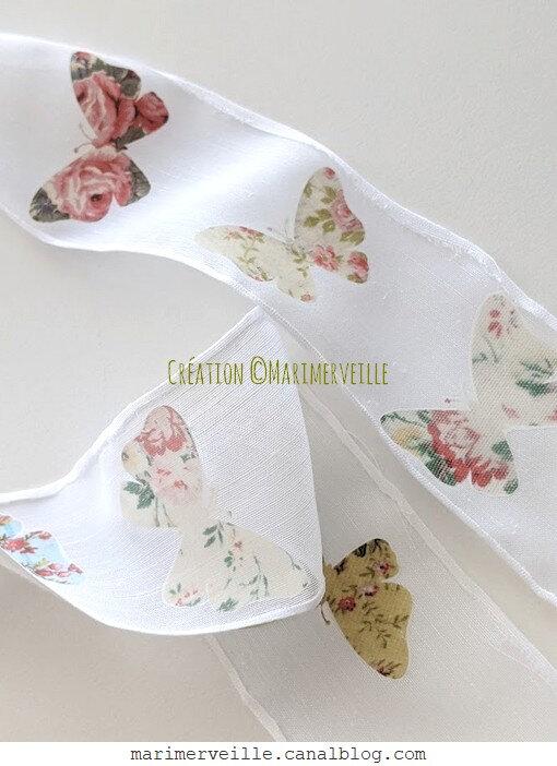 Guirlande aux papillons 2 - création ©marimerveille