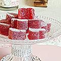 Pâte fruits à la fraise