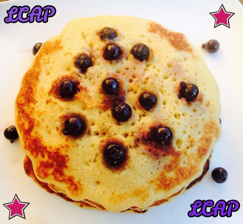 Pancakes faciles au Cassis