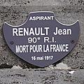 Renault jean (saint genou) + 16/05/1917 romains (51)